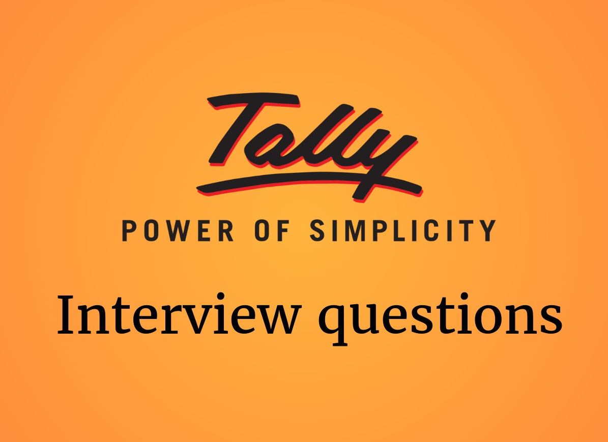 Tally interview questions