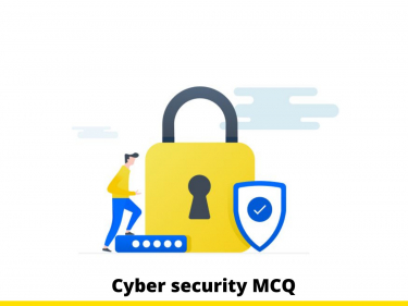 Cyber security MCQ