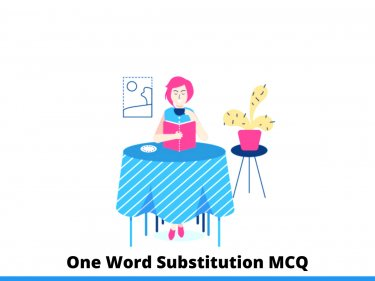 One Word Substitution MCQ