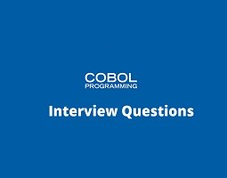 Cobol interview questions