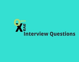 OpenXava Interview questions