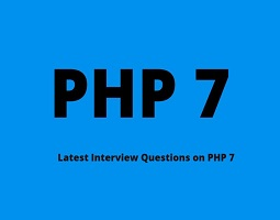 PHP 7 interview questions