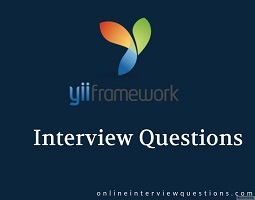 Yii 2 interview questions
