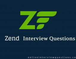 Zend Framework Interview Questions