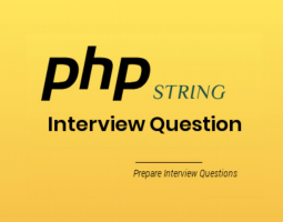 PHP String Interview Questions