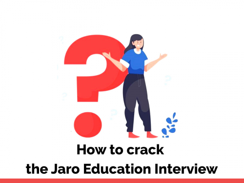How to crack the Jaro education interview