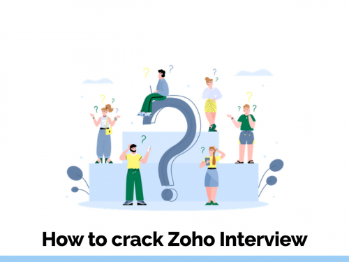 How to crack Zoho interview